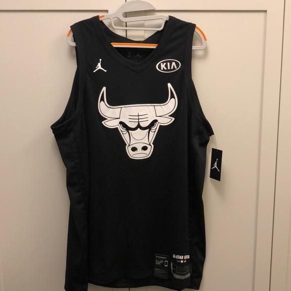 sports shoes cf74f 057c4 Michael Jordan 2018 All Star Jersey XL black NWT